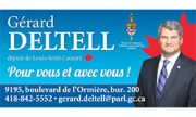 Gérard Deltell   Défi tête la première